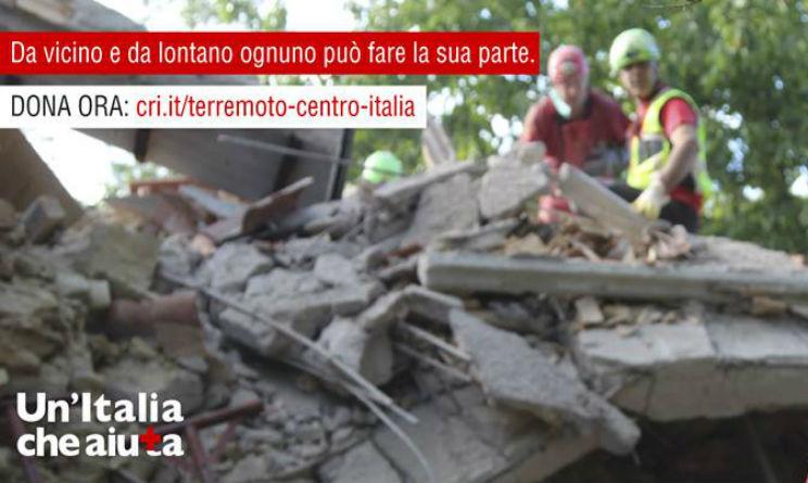 Terremoto centro Italia, Donazioni