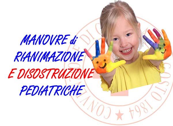Corsi di Manovre Disostruzione Pediatriche