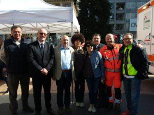 Noi ci siamo! – Maxi lezione di soccorso in piazza per 500 studenti