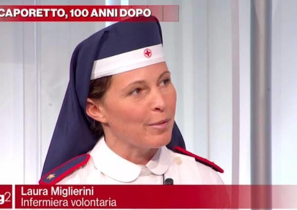 La Crocerossina della Valcuvia a Rai2 per parlare di Caporetto