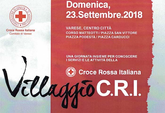Villaggio C.R.I. 2018 – La Croce Rossa Italiana di Varese in festa
